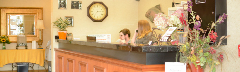 Our friendly staff welcomes you...